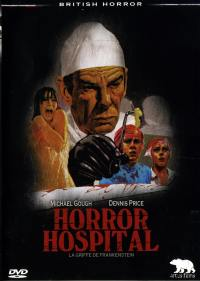 British horror - horror hospital - dvd