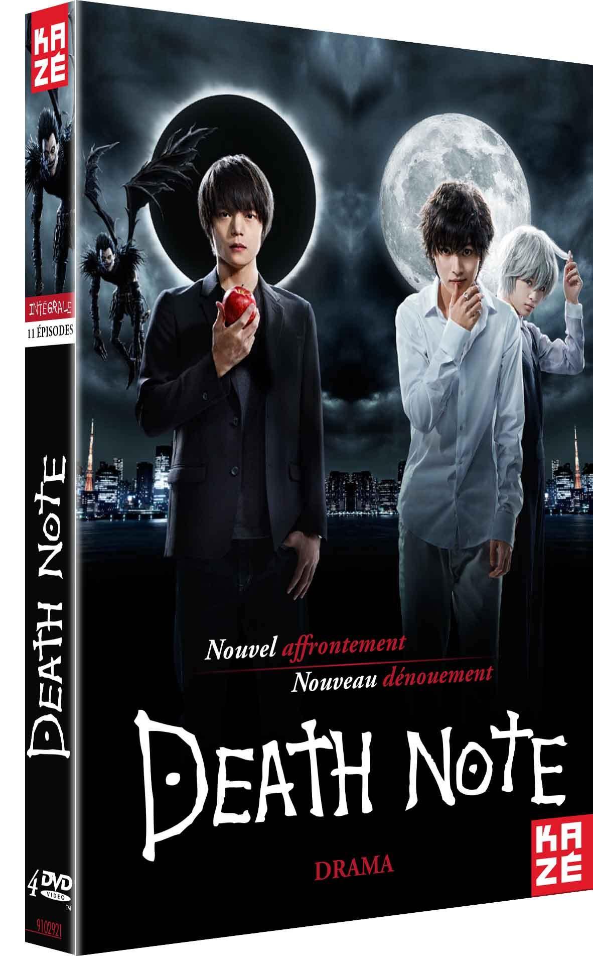 Death note - le drama - integrale serie - 4 dvd