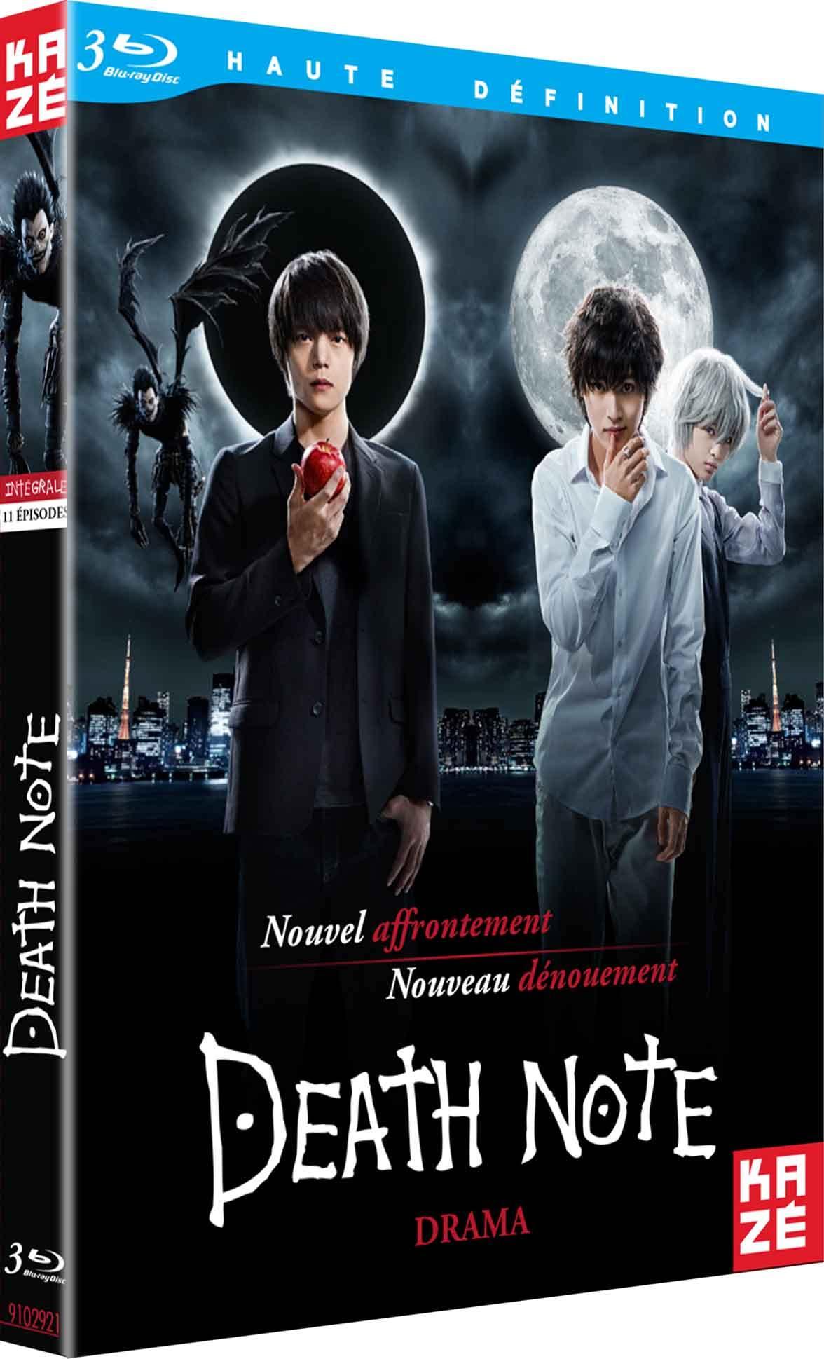 Death note - le drama - integrale serie - 3 blu-ray