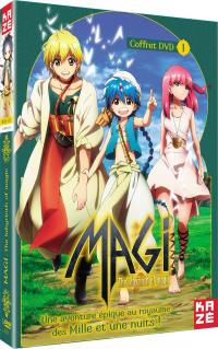 Magi - the labyrinth of magic - saison 1 - partie 1 sur 2 - 3 dvd