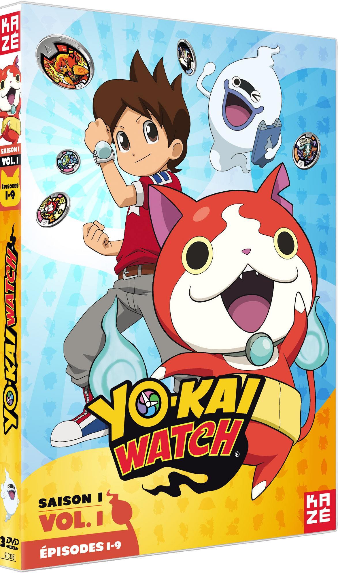 Yo-kai watch - saison 1 - partie 1 sur 3 - 3 dvd