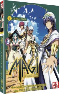Magi - the labyrinth of magic - saison 1 - partie 2 sur 2 - 3 dvd