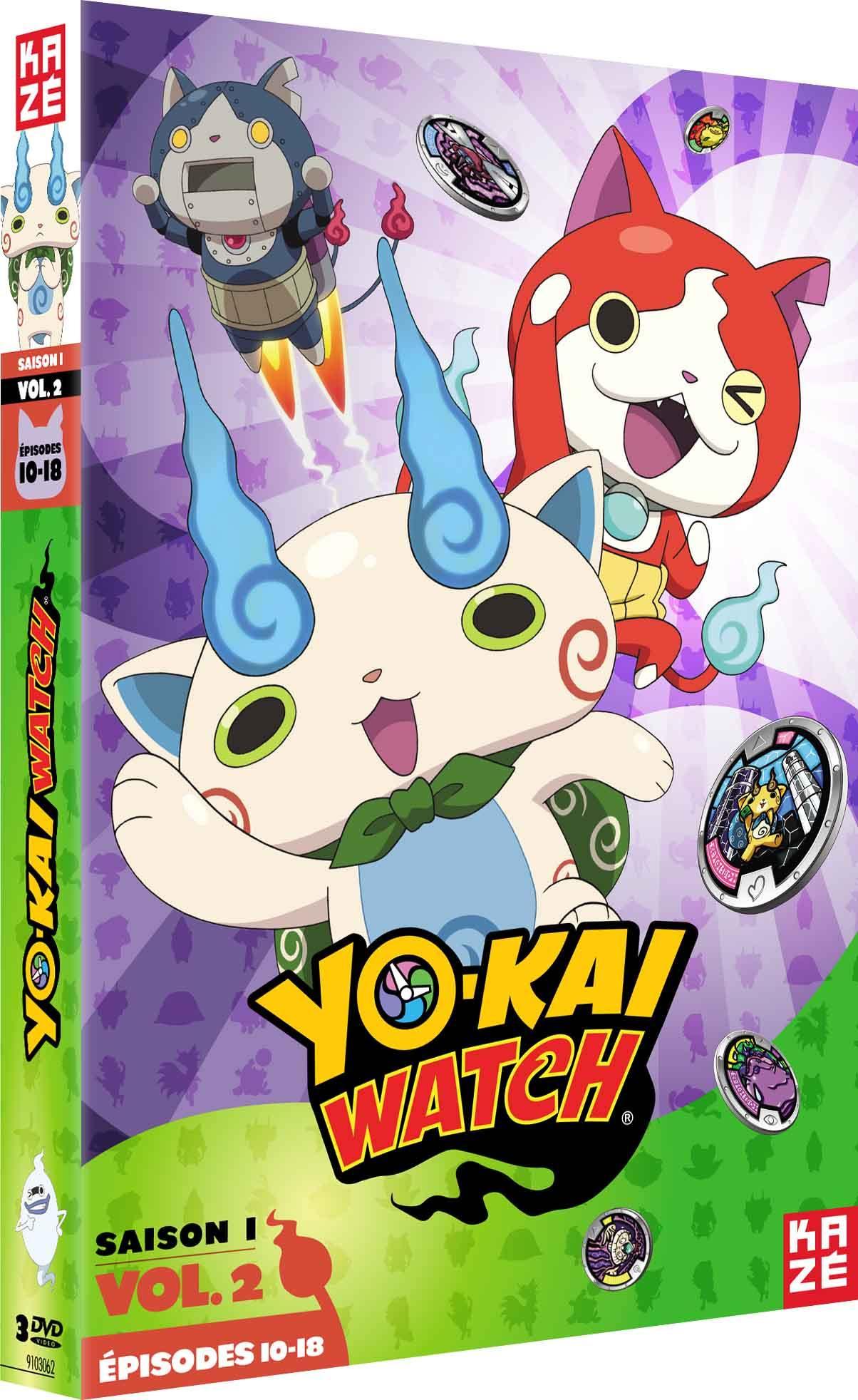 Yo-kai watch - saison 1 - partie 2 sur 3 - 3 dvd