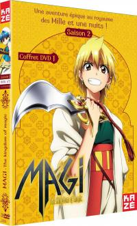 Magi - the kingdom of magic - saison 2 - partie 1 sur 2 - 3 dvd