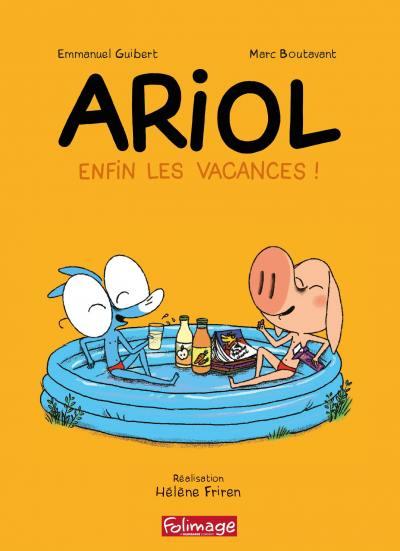 Ariol - enfin les vacances- dvd