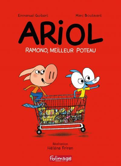 Ariol - ramono, meilleur poteau - dvd