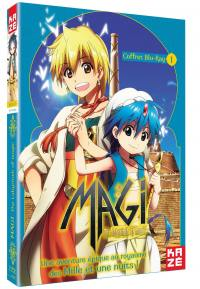 Magi - the labyrinth of magic - saison 1 - partie 1 sur 2 - 2 blu-ray