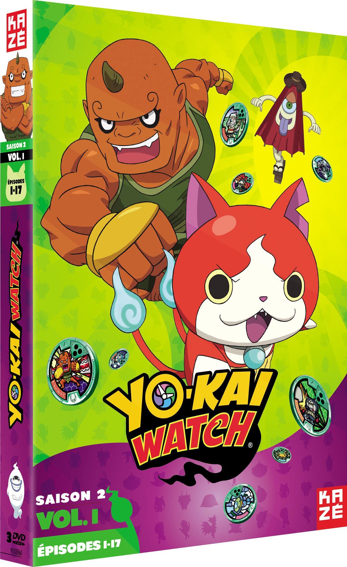 Yo-kai watch - saison 2 - partie 1 sur 3 - 3 dvd