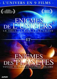 Coffret enigmes de l'univers et des planetes - 4 dvd