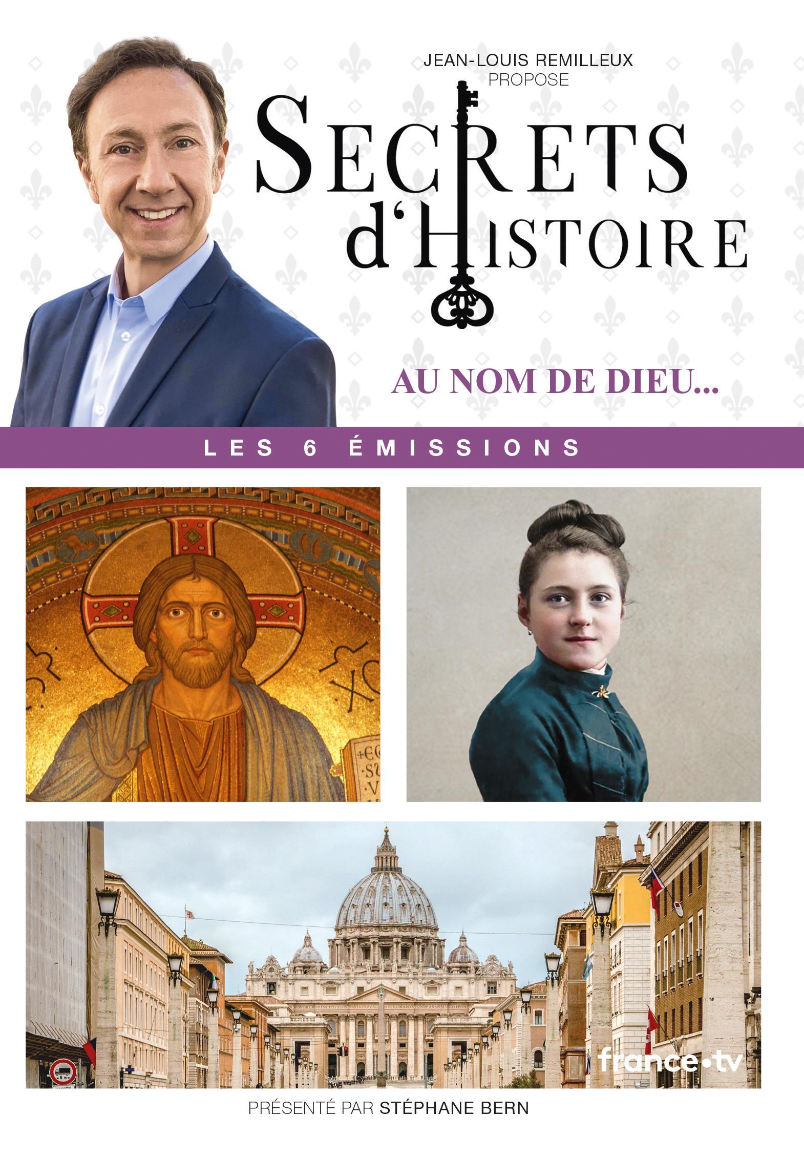 Secrets d'histoire - l'eglise catholique a travers les ages - 3 dvd