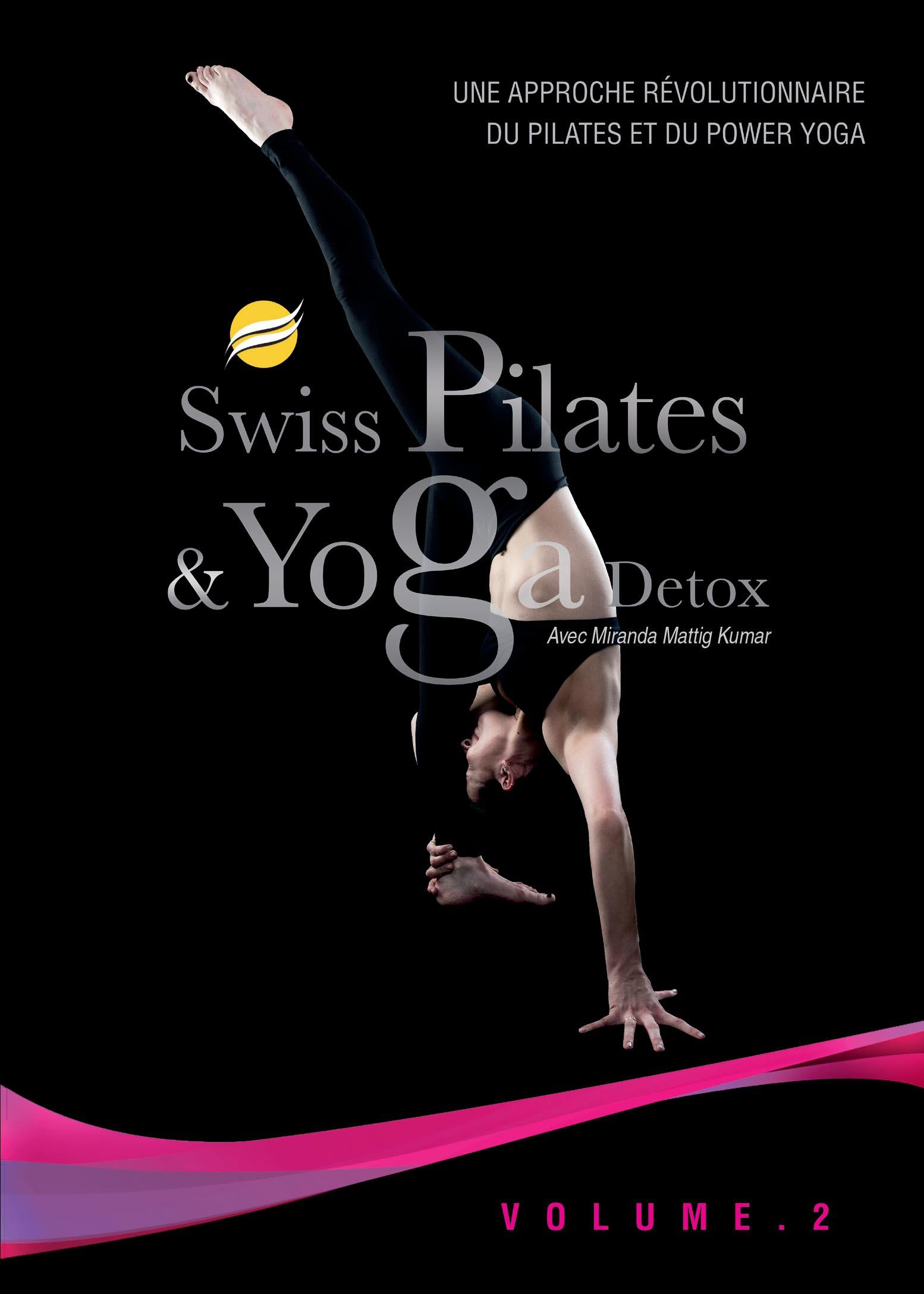 Swiss pilates & yoga detox v2 - dvd