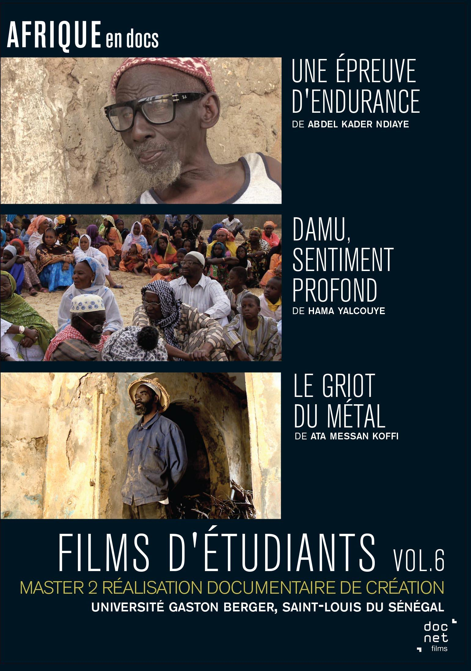 Films d'etudiants saint-louis du senegal v6 - dvd
