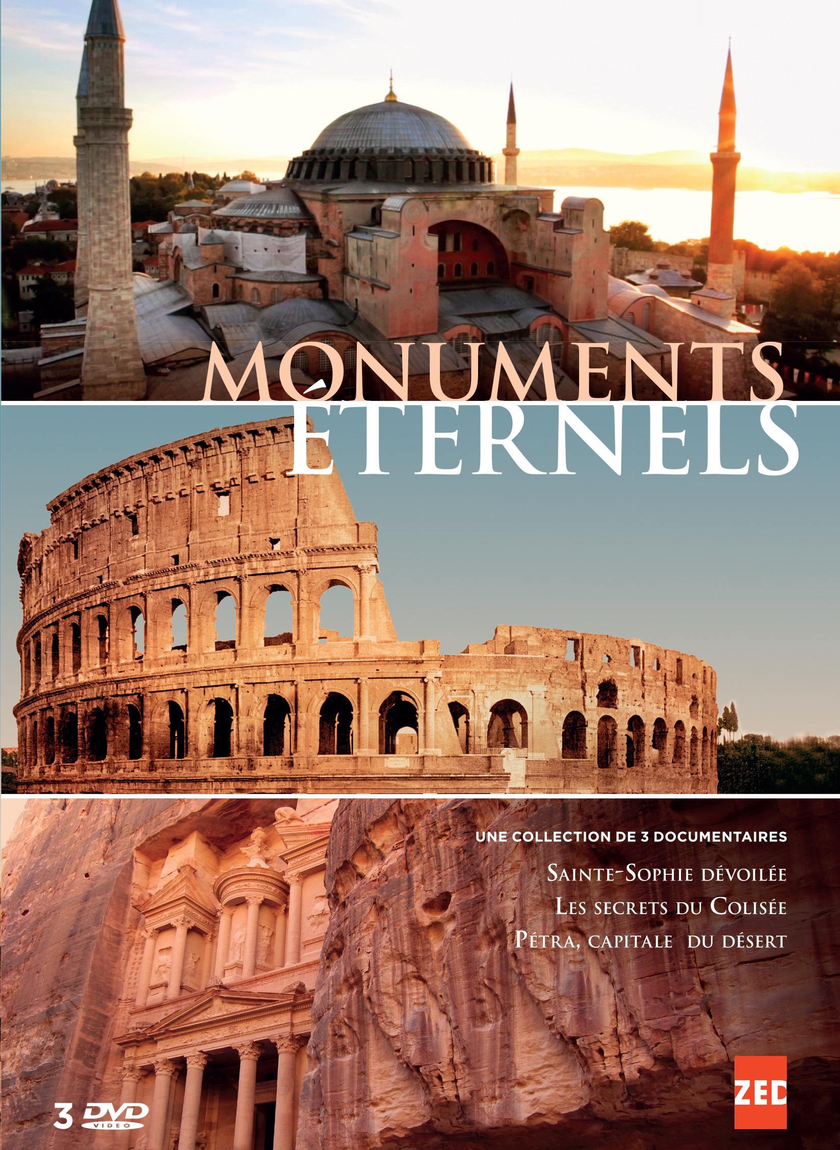 Monuments eternels - 3 dvd