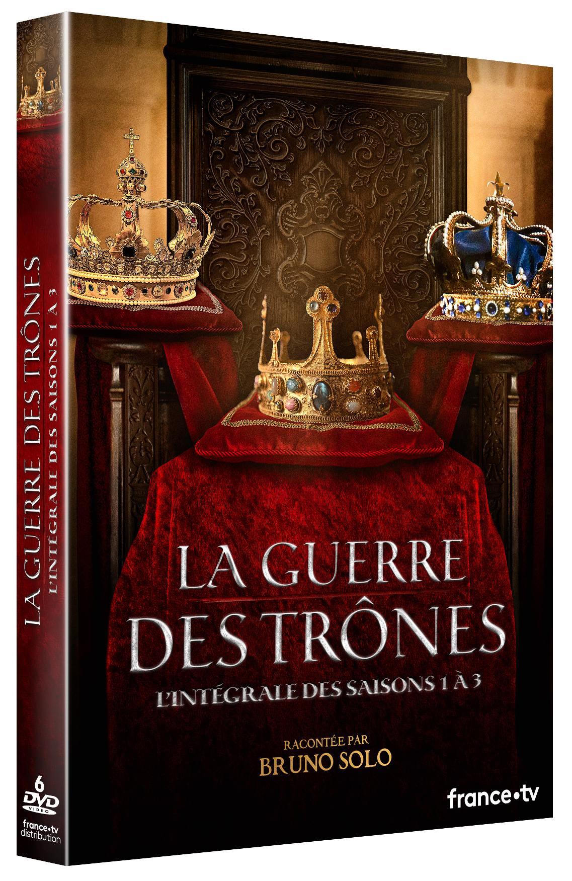 Guerre des trones (la) - s1 a s3 - 6 dvd