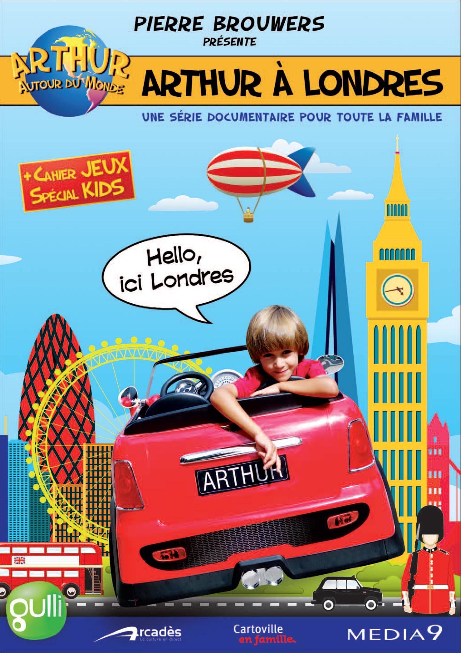 Arthur a londres - dvd