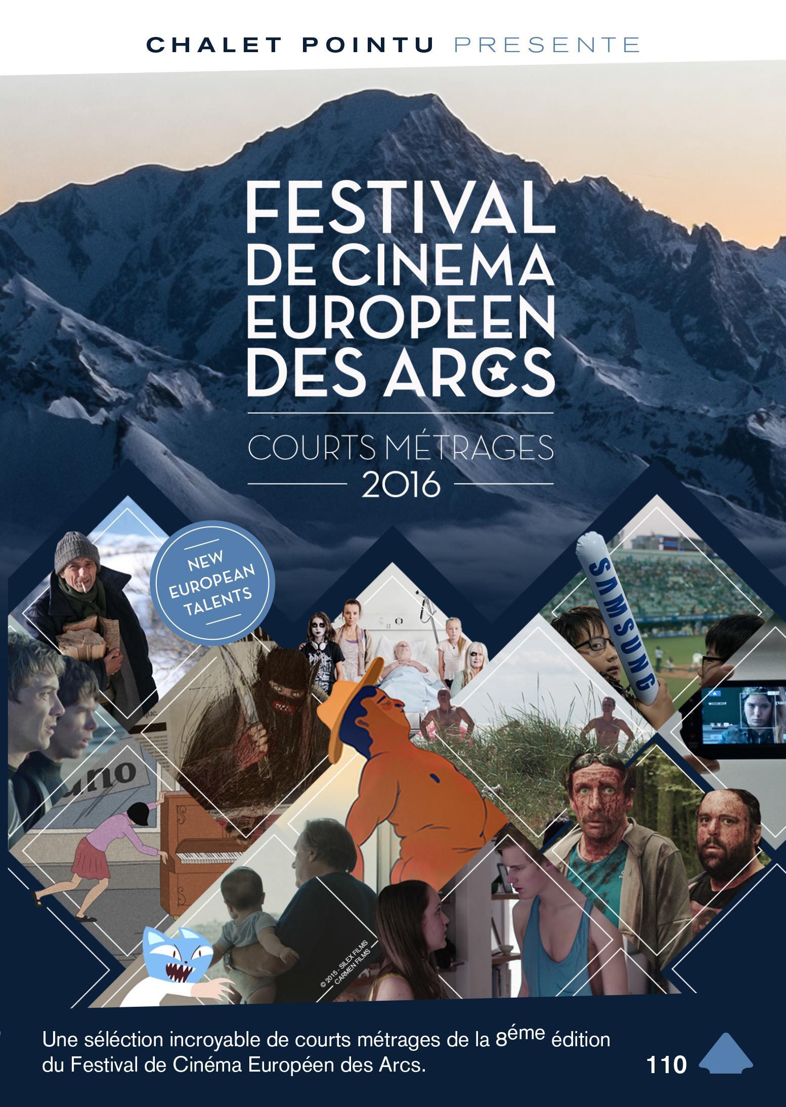 Festival de cinema europeen des arcs - courts metrages 2016 - dvd