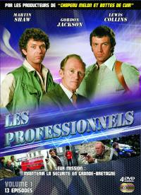 Les professionnels vol 1 - 4 dvd