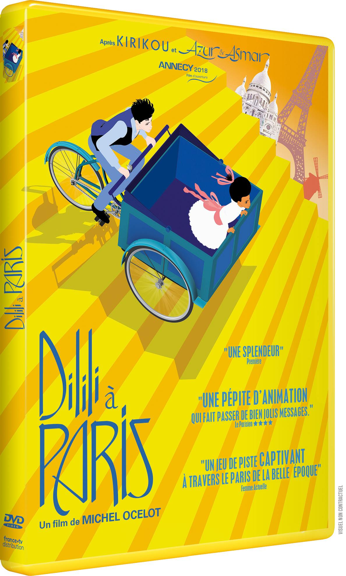 Dilili a paris - dvd