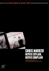 Chris marker, never explain, never complain - dvd