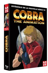 Cobra - the animation - integrale serie - coffret collector 3 dvd