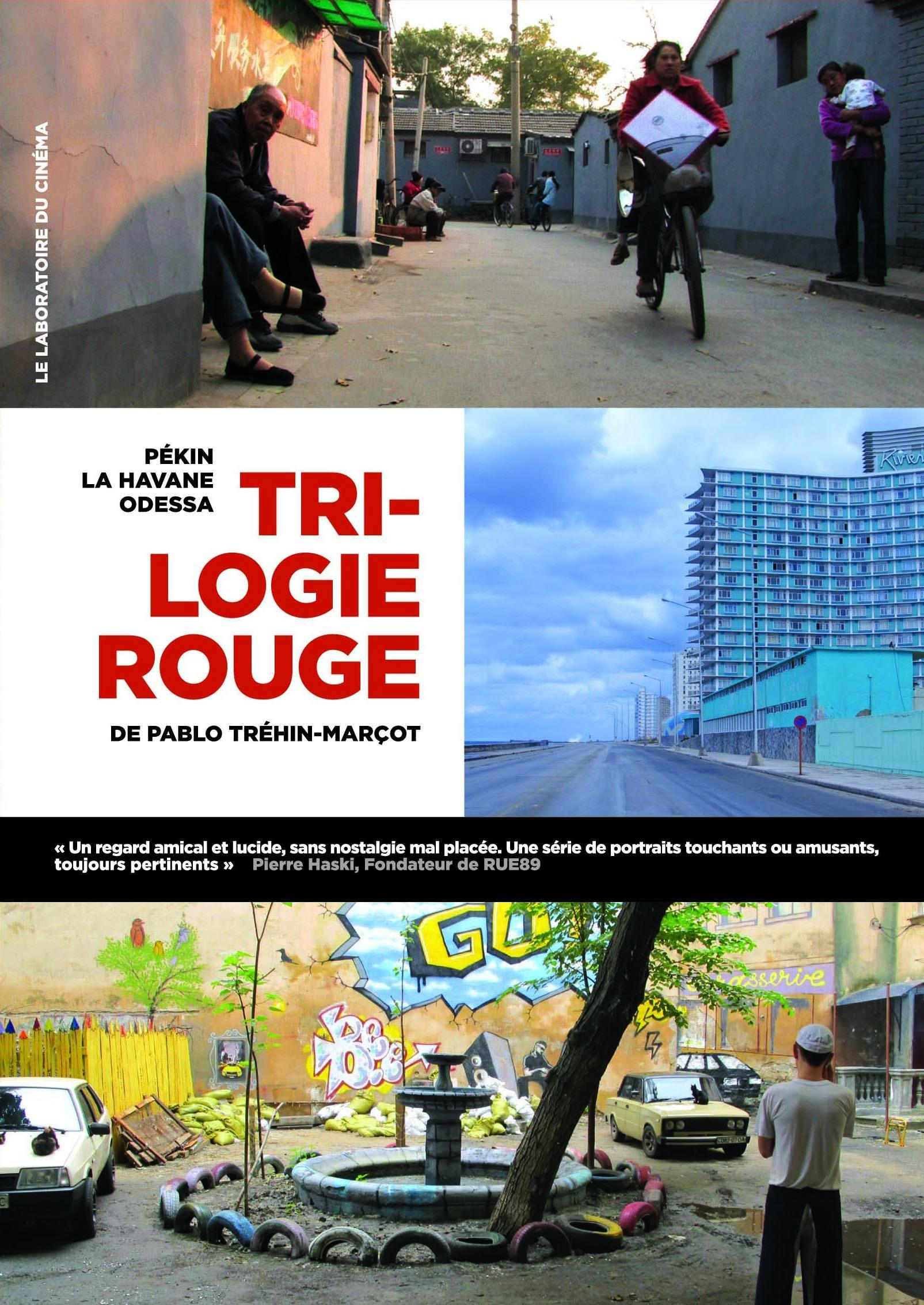 Coffret rues de pekin - rues de la havane - rues d'odessa - 3 dvd