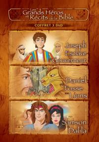 Coffret 3 - joseph / daniel / samson - 3 dvd