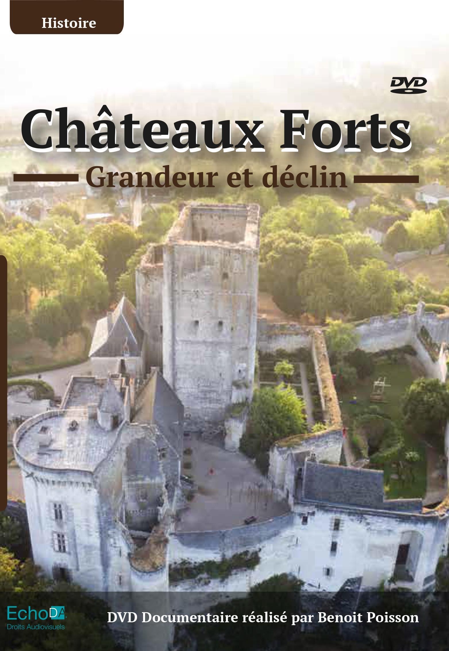 Chateaux forts - grandeur declin - dvd