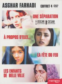 Coffret asghar farhadi - 4 dvd