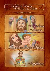 Coffret 4 - apotres / miracles / dernier jours - 3 dvd