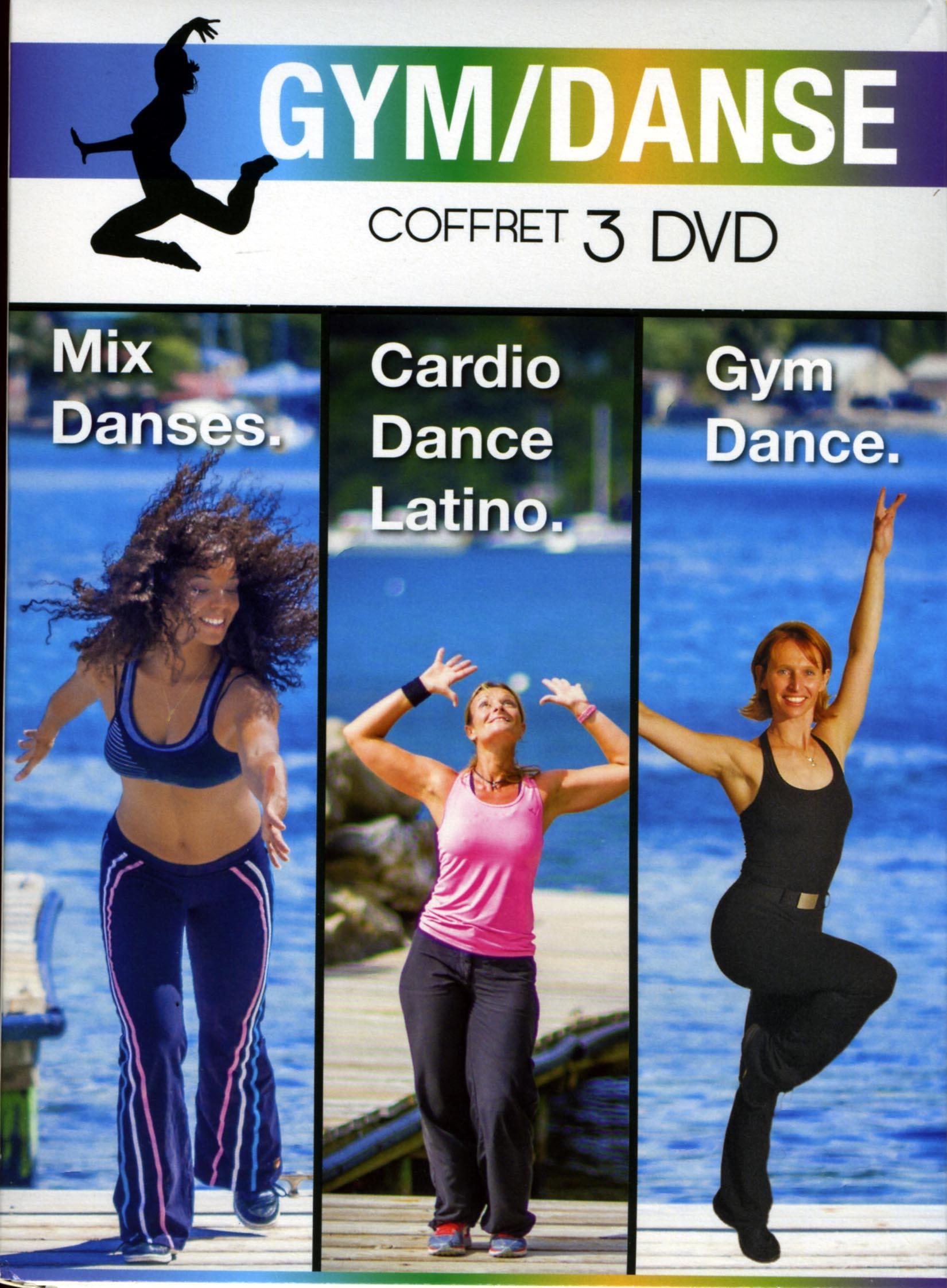 Gym dance - 3 dvd