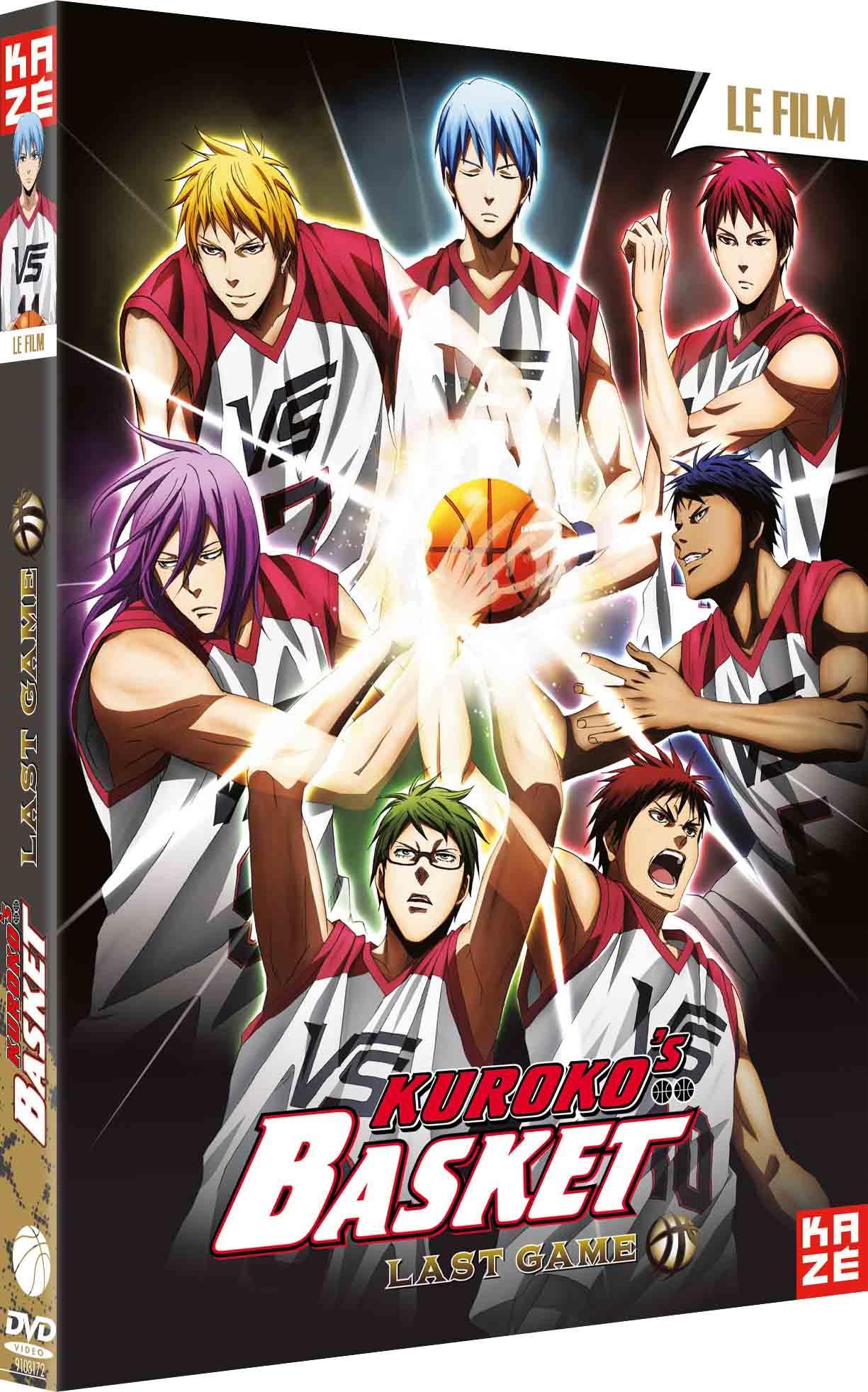 Kuroko's basket - last game - le film - dvd
