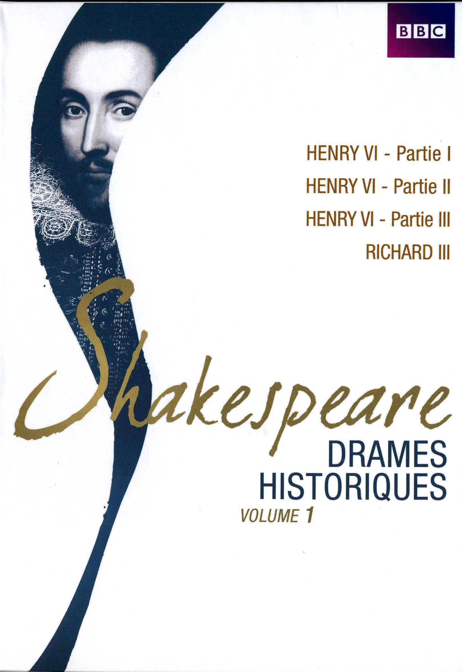 Shakespeare drames historiques - vol 1 - 7dvd