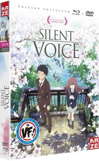 Silent voice - the movie - coffret collector dvd + blu-ray