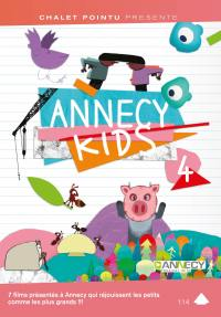 Annecy kids 4 - dvd