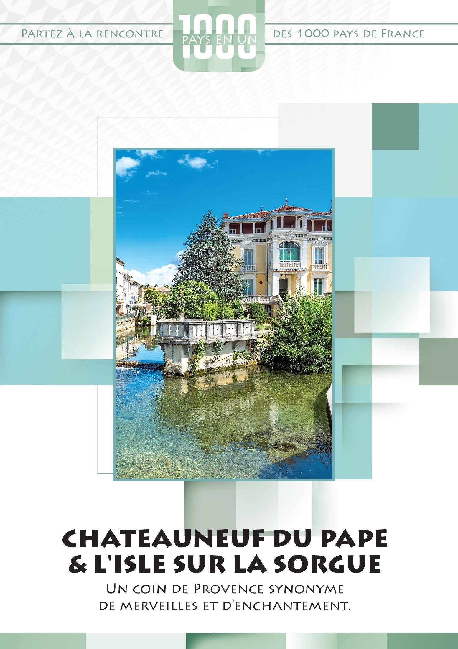 Mille pays en un- chateauneuf du pape & l'isle sur la sorgue - dvd