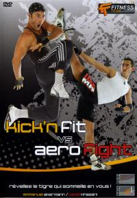 Kick'n fit vs aero fight - dvd  fitness team