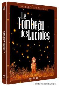Tombeau des lucioles (le) - le film - steelbook - dvd+blu-ray
