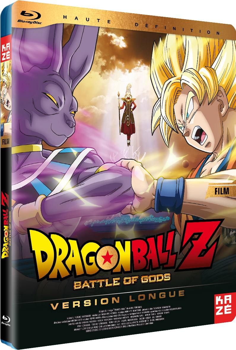 Dragon ball z - battle of gods - le film - blu-ray