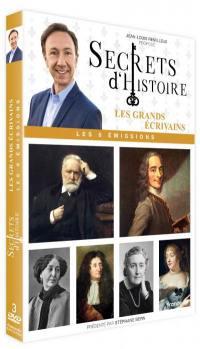 Secrets d'histoire - les grands ecrivains - 3 dvd