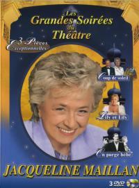 Coffret j. maillan - 3 dvd  les grandes soirees du theatre