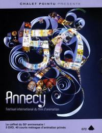 Coffret 5 dvd annecy  festival international