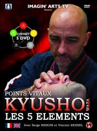 Kyusho - les 5 elements - 5 dvd