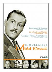 Coffret inoubliable michel serrault - 3 dvd
