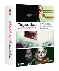 Depardon presse/politique - 3 dvd