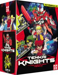 Tenkai knights - integrale serie - 10 dvd
