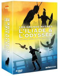 Iliade et l'odyssee (l') - les grands mythes - 4 dvd