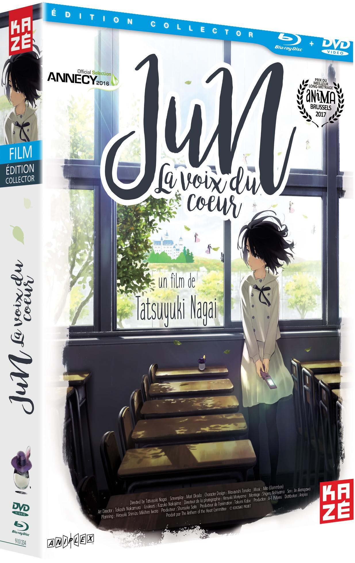 Jun - la voix du cŒur - coffret collector dvd + blu-ray