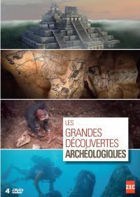 Grandes decouvertes archeologiques (les) - 4 dvd