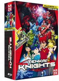 Tenkai knights - saison 1 - partie 1 sur 2 - 5 dvd