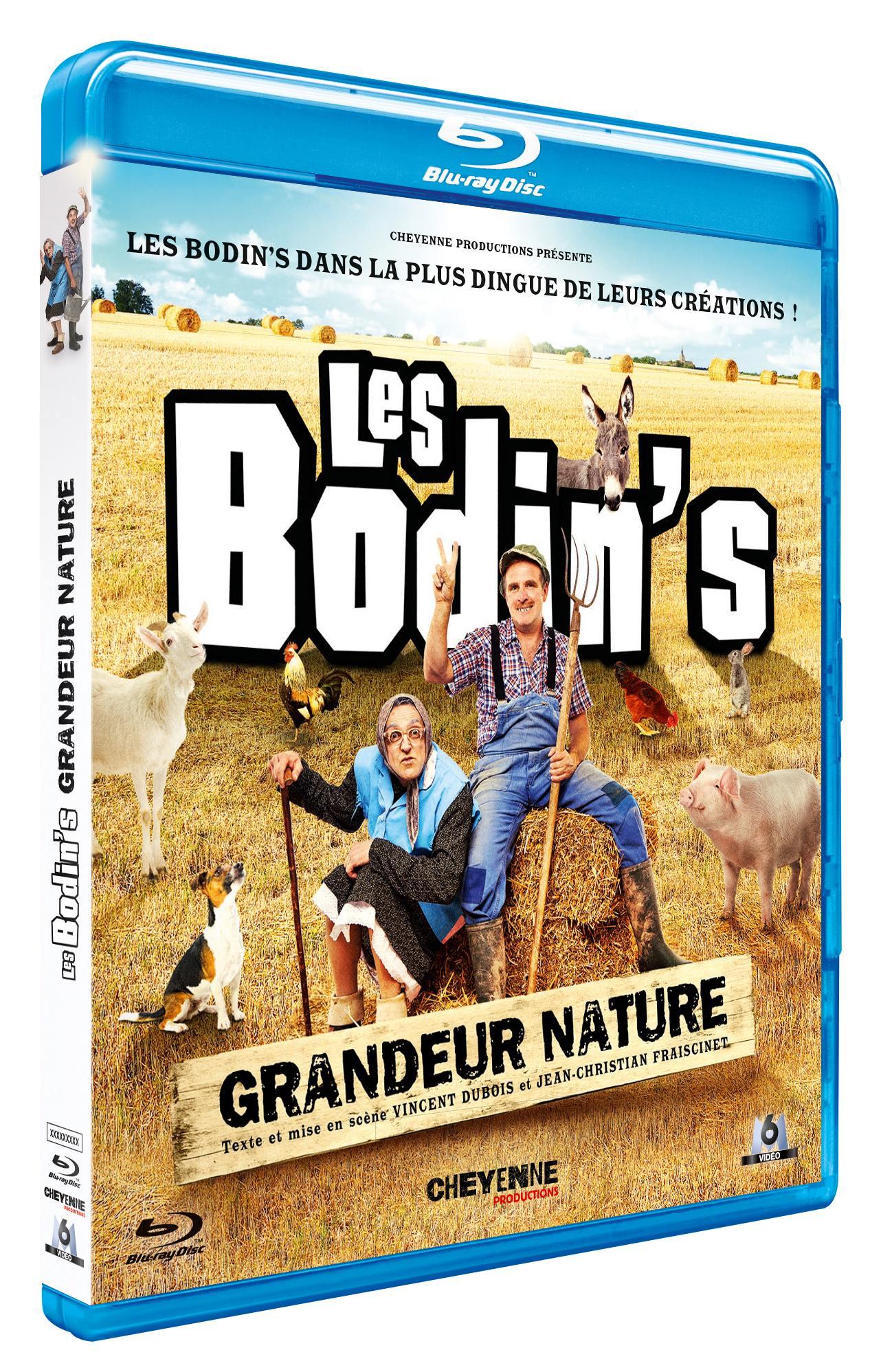Les bodin's grandeur nature edition 2019 - blu-ray